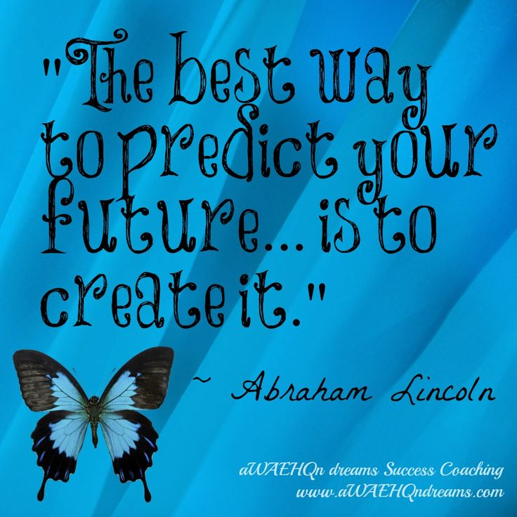 "aWAEHQn dreams Success Coaching: Entrepreneurship Is Perfect for the Unemployed Who Cant Find Work ""The best way to predict your future... is to create it."" - Abraham Lincoln"