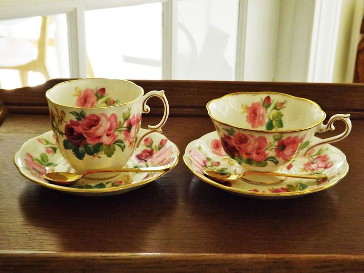 Difference Between Coffee Tea Cups Royal Albert Princess Anne Brushed Gold