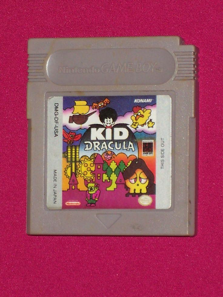 Kid Dracula - Nintendo Gameboy Original 1993 - Game Only, Konami ~ RARE ~