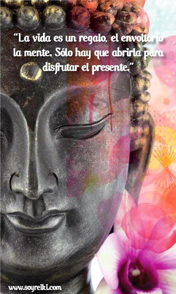 ... La vida es un regalo, el envoltorio la mente. Sólo hay que abrirla para disfrutar el presente.