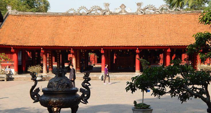 Temple of literature in Hanoi. #temple #literature #hanoi #travel #wander #historical