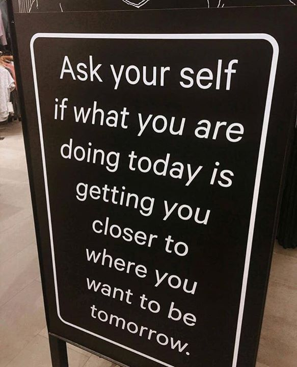 Positive Quotes : Ask Your Self.