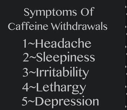 Caffeine Withdrawal Symptoms Length