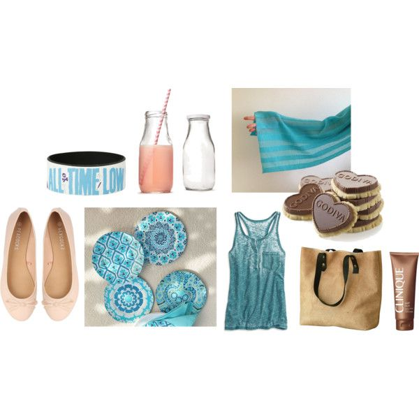 Tuesday 01 by anna-suchodolska on Polyvore featuring American Eagle Outfitters, Clinique and Pottery Barn