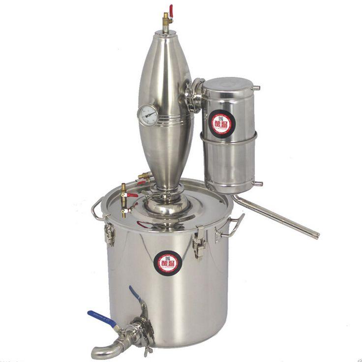 25l 45l 65lアルコールステンレス蒸留器ホーム醸造キットムーンシャインまだワイン作りボイラー