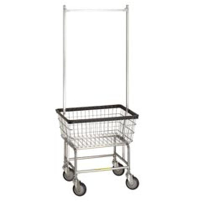 Details At Http Youzones Com Standard Laundry Cart W Double Pole