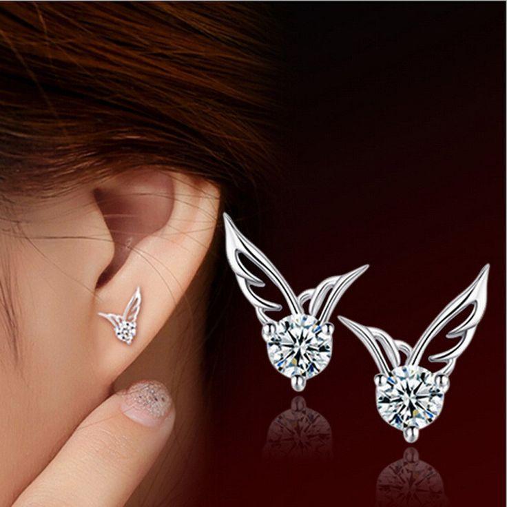 Angel Wing Earring S925 Silver