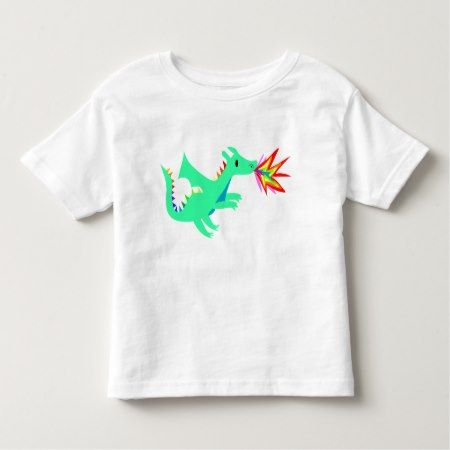 Rainbow cute dragon shirt for kids - tap to personalize and get yours