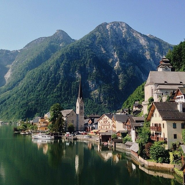 Hallstatt, Austria by @haileygolich  81 Breathtaking Images of Travel Inspiration :: This is Glamorous