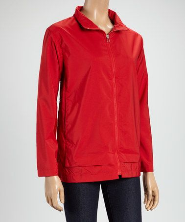 Look what I found on #zulily! Red Windbreaker by Rafael #zulilyfinds