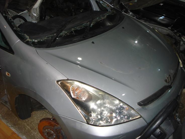 Toyota Wish Complete Half Cut – 2005  http://spareparts.kitaicars.com/listing/toyota-wish-complete-half-cut-2005/