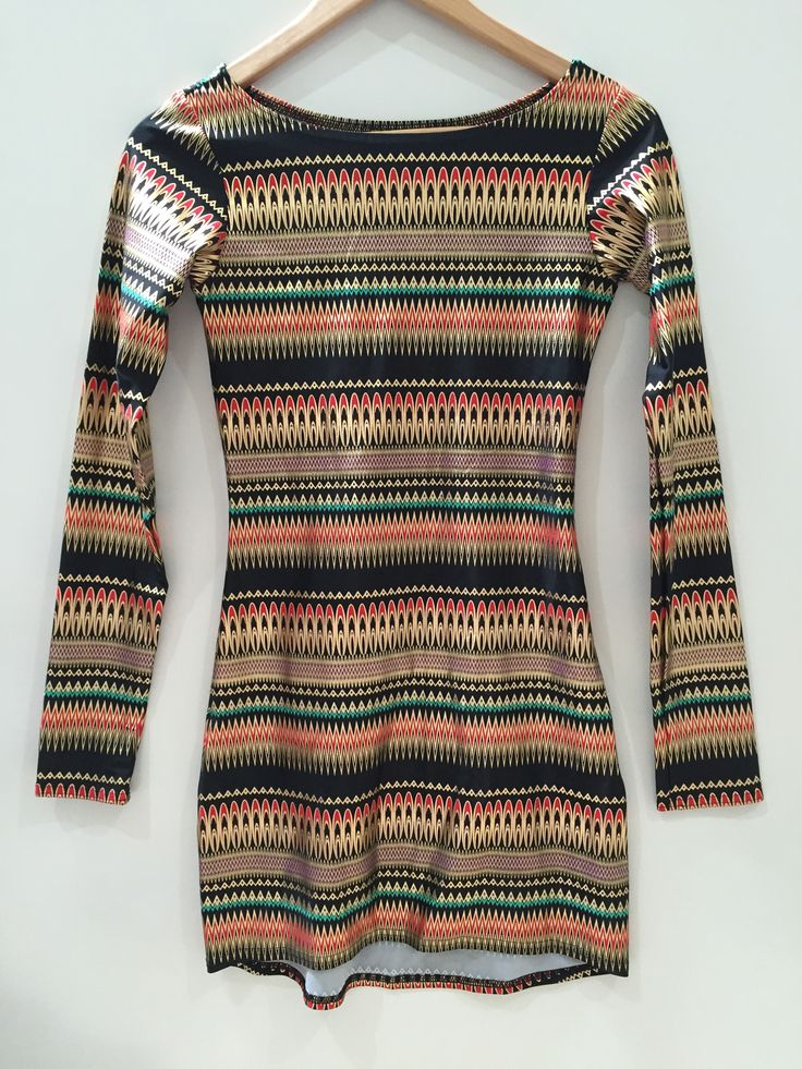 Medium Nairobi Long Sleeve Dress.