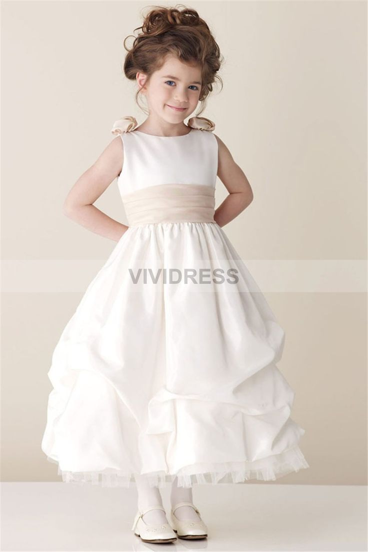 13 Best Pretty Flower Girl Dresses Images By Alena On Pinterest
