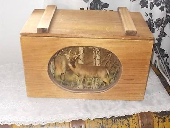 Wooden Storage Trunk Vintage Wooden Trunk Wooden Chest