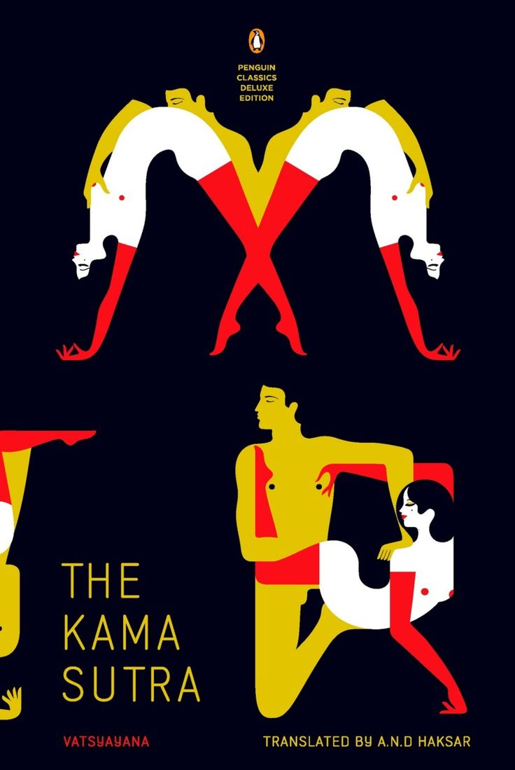 Vatsyayana's The Kama Sutra, with new translation by A.N.D. Haksar • Designed by French illustrator Malika Favre for Penguin Books • Part of the Penguin Classics Graphic Deluxe Editions • 2012