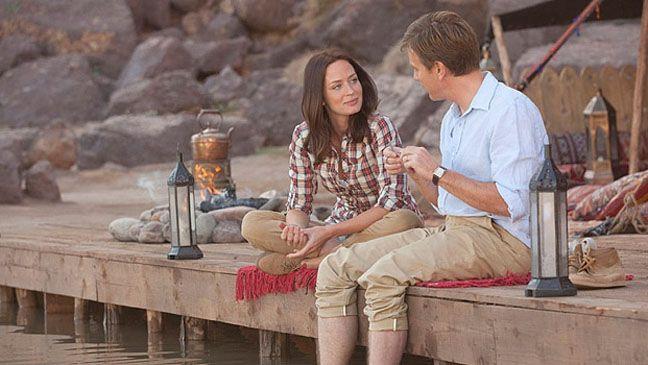 Emily Blunt in Salmon Fishing in the Yemen