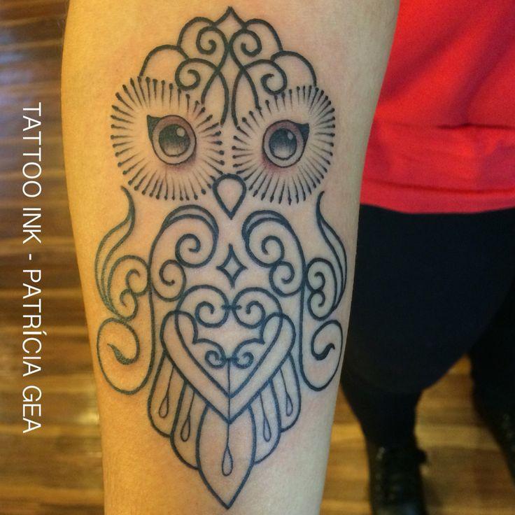 Tatuagem de Coruja ❤️
