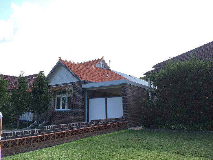 24 Dudley St haberfield.  Attic conversion and extension straight back.  (ie extending from main room line). Note they have put attic window in the roof vent.
