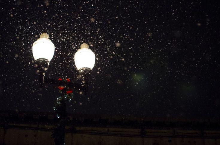 farol, noche, nocturno, iluminado, iluminar, luz, lampara, lluvia,