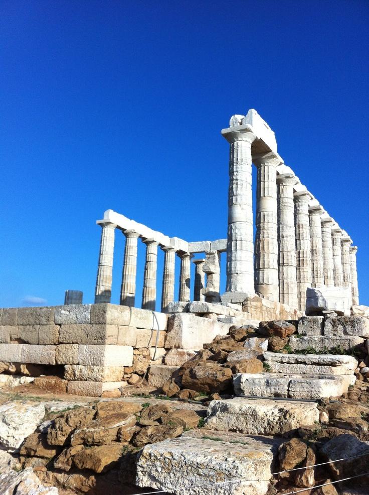 #Sounio #Temple of Poseidon