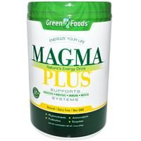 Green Foods Corporation, Magma Plus, Nature's Energy Drink, 10.6 oz (300 g) - iHerb.com
