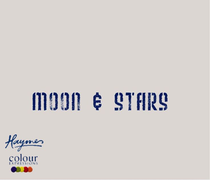 Haymes Paint - 2013 Colour Expressions Forecast - U In The Universe - Moon & Stars