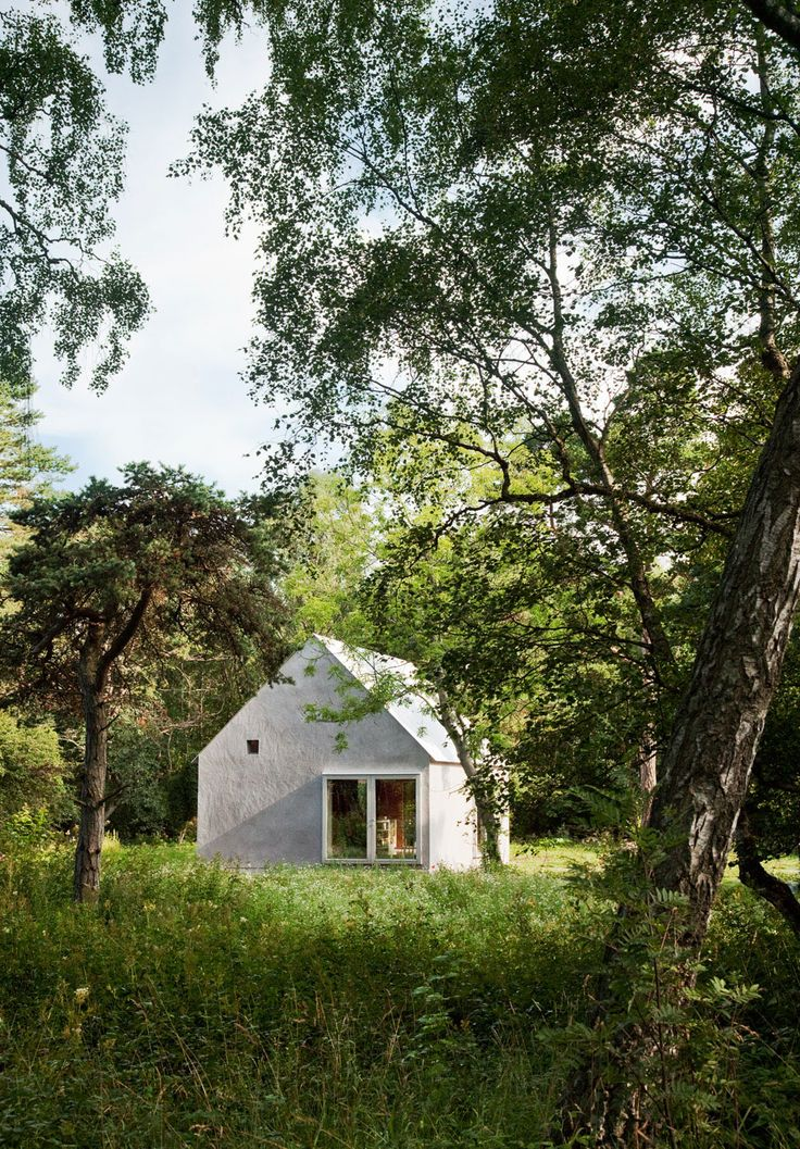 Summer House by Dinell Johansson Architects, Gotland, Sweden.