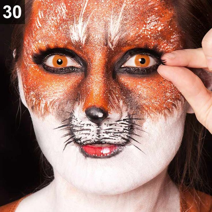 Fuchs schminken – Karneval Make-Up Tutorial