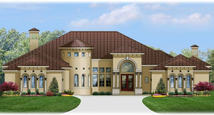 Italianate House Plan With 6248 Square Feet And 4 Bedrooms