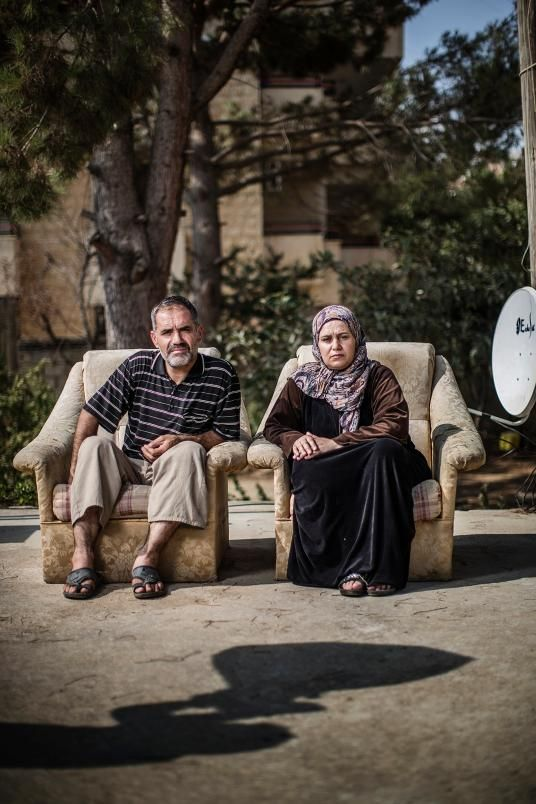 Picture of Fatma Shdad with her husband Ali