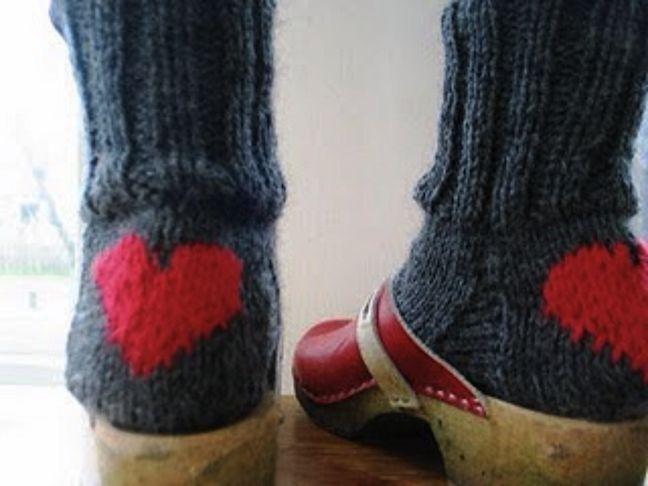 Warm heart warm tootsies. x