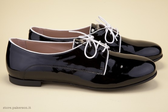Visit Pakerson Online Store. - Visita lo Store Online Pakerson. http://store.pakerson.it/woman-lace-up-shoes-26273-nero.html