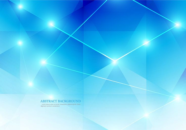 Virtual Technology Vector Background