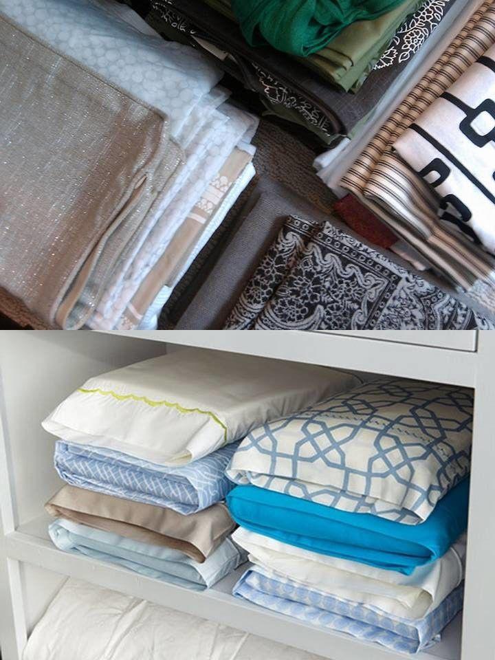 hogar y estilos tips para ahorrar espacio organizando la lencera de la casa http