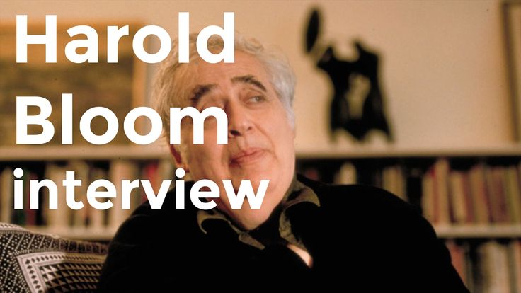 "Harold Bloom interview on ""The Western Canon"" (1994)  1:16"