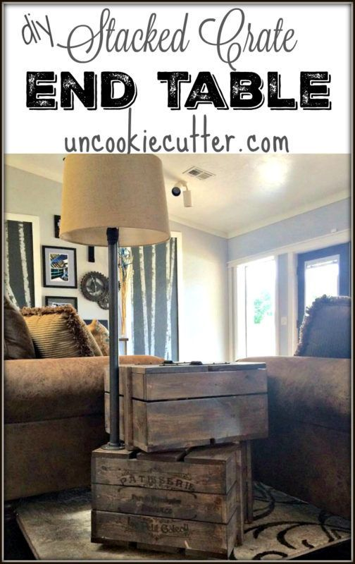Best 25+ Crate end tables ideas on Pinterest | Wooden ...