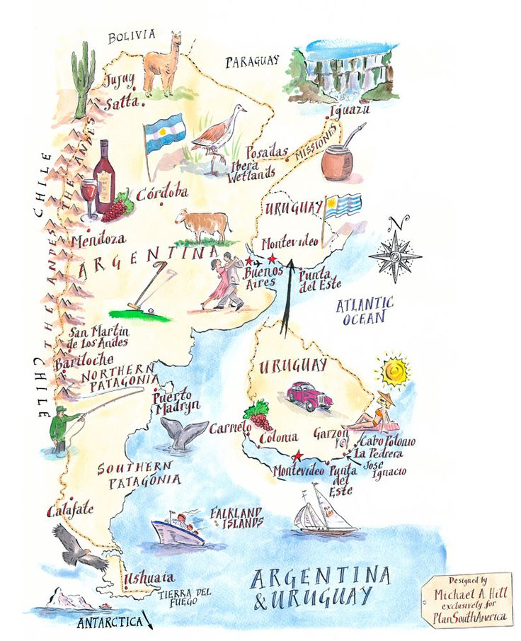 Best Argentina Map Ideas On Pinterest Uruguay Map Argentina - Physical map of argentina