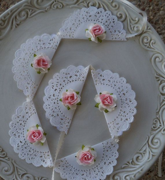 Shabby Chic Banner for Tea Party