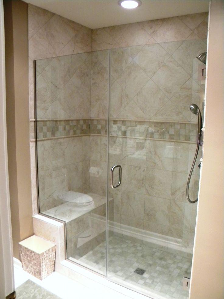 24 best Frameless Shower Enclosures images on Pinterest | Bathroom ...