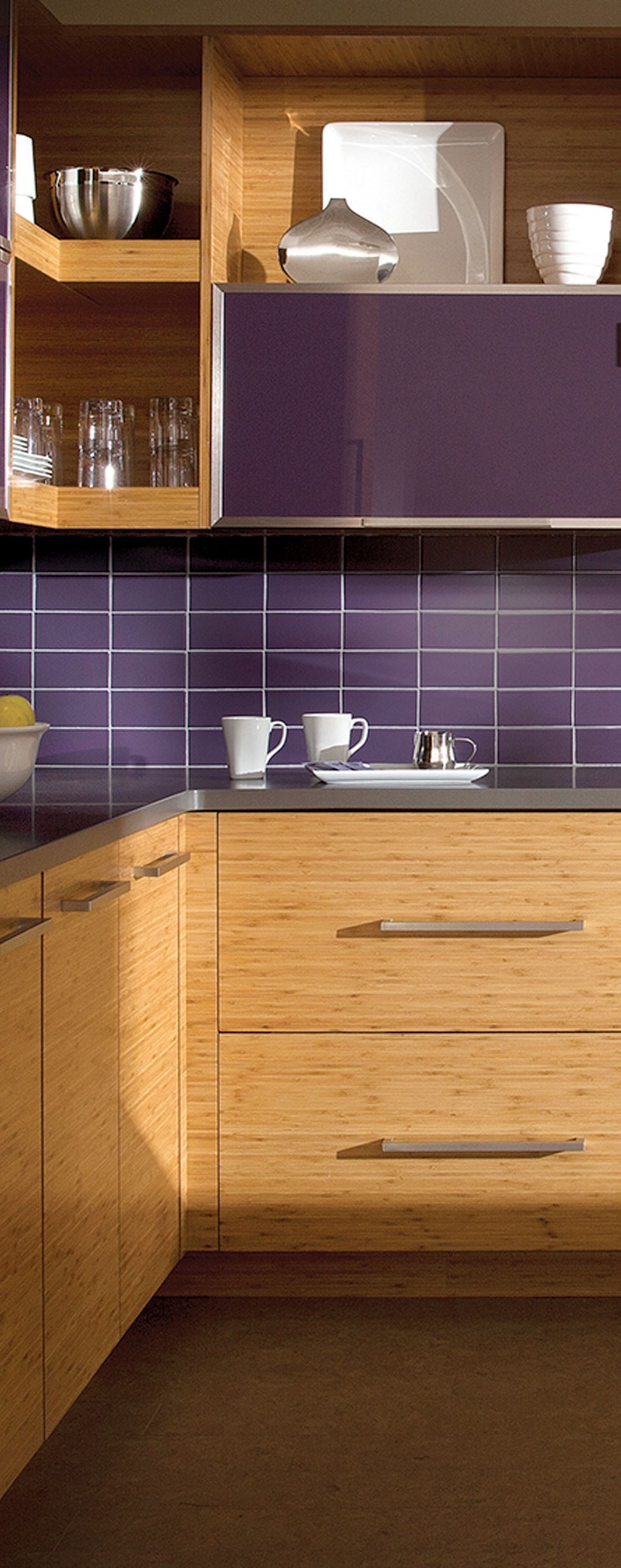 Purple Kitchen Backsplash 17 Best Images About Pretty In Purple On Pinterest Purple