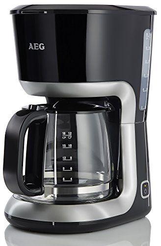 AEG PerfectMorning EWA3300 Wasserkocher (2200 Watt, 1,7 Liter, beidseitige Wasserstandsanzeige, entnehmbarer und abwaschbarer Kalkfilter, tropffreier Ausguss, Abschaltautomatik, BPA-frei) Schwarz - AmazingMarket.de