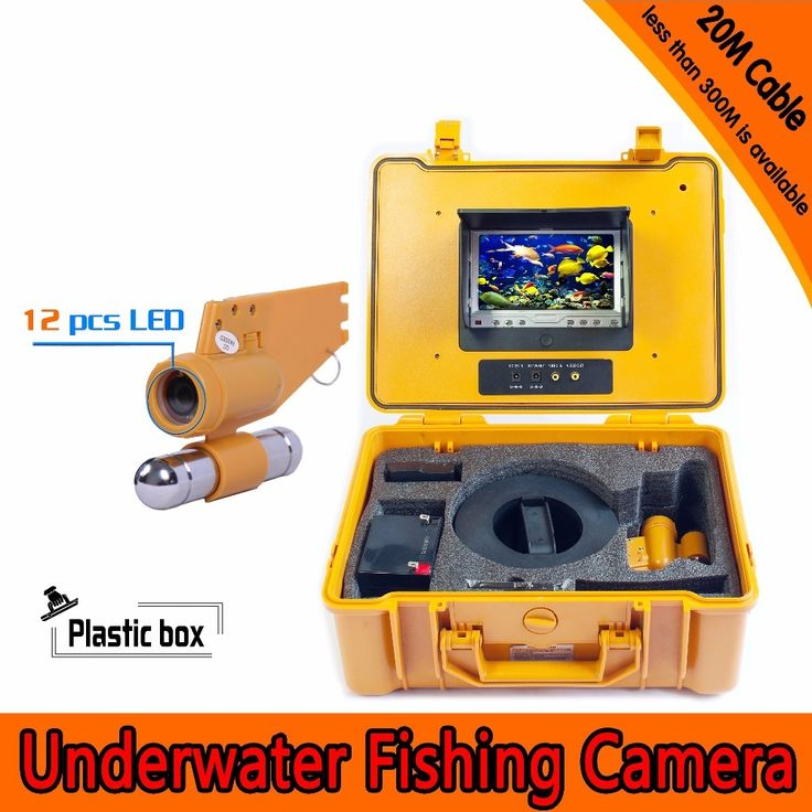 257.23$  Buy now - http://alii4g.shopchina.info/1/go.php?t=32808646325 - (1 set) 20M cable Underwater Fishing Camera HD 700TVL Night version Plastic box waterproof camera Fish finder free shipping 257.23$ #aliexpresschina