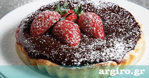 Ατομικές τάρτες με Γκανάς σοκολάτα από την Αργυρώ Μπαρμπαρίγου | Πολύ εύκολη και πεντανόστιμη τάρτα σοκολάτας. Φτιάξτε την και ξεχάστε τα ζαχαροπλαστεία!