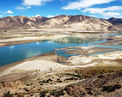 Brahmaputra River Tibet - Yarlung Tsangpo River