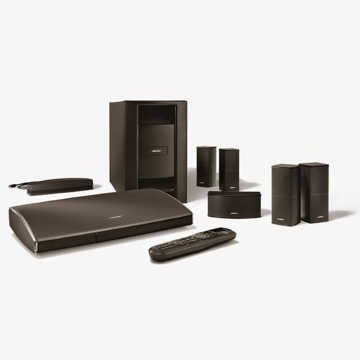 Bose Lifestyle 535 Series III Home Entertainment System (Black) Enjoy powerful surround sound experience for all of your entertainment with deep low-note performance that puts you in the middle of the action. Connect up to 6 HD video and audio sources with guided setup.