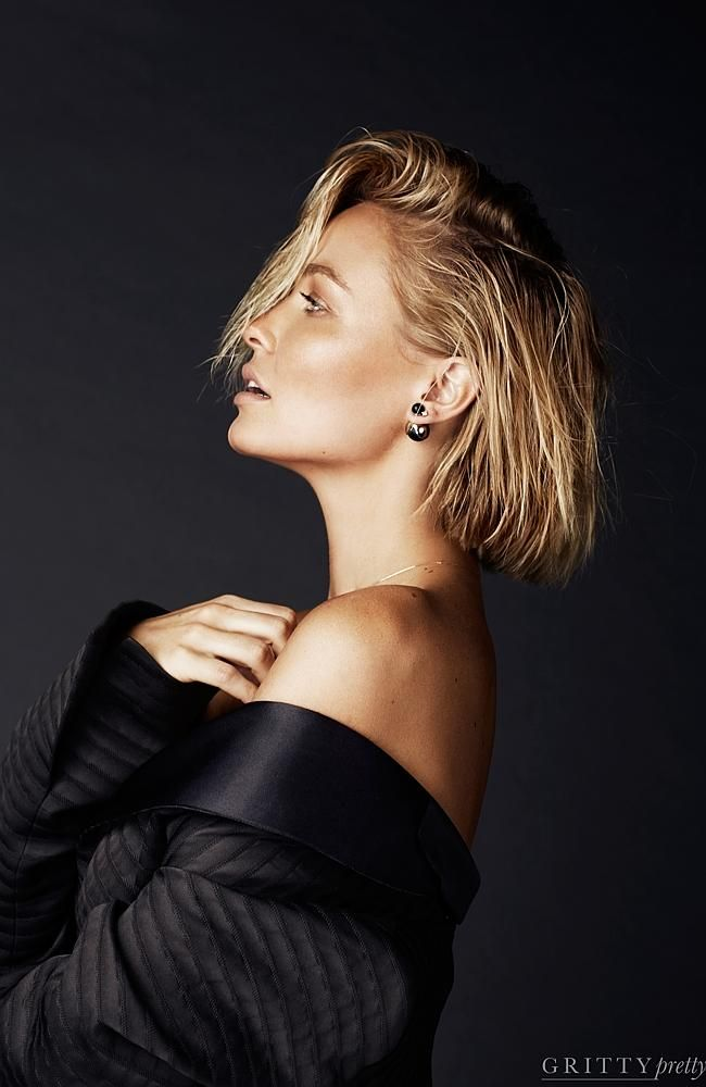 Lara Bingle Worthington in a photo-shoot for Gritty Pretty Magazine. Picture: Tāne Coffin