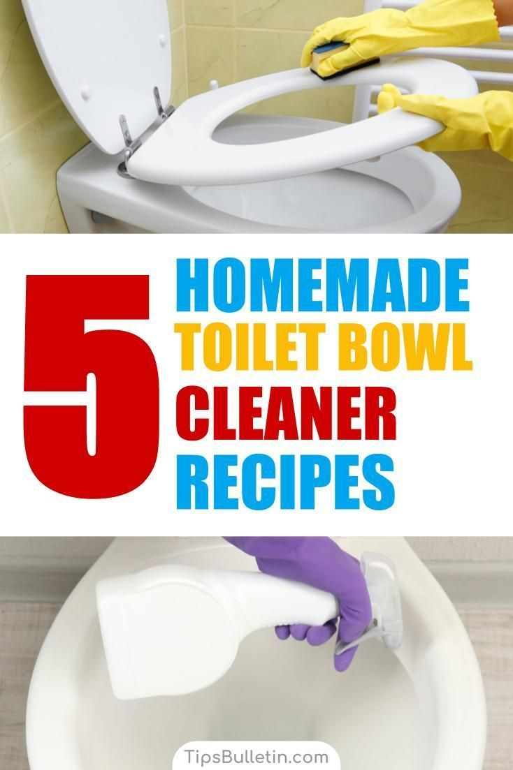 Clean your toilet all natural with these 5 homemade toilet bowl cleaner recipes. Covering cleaning tips and recipes with baking soda, vinegar, ...