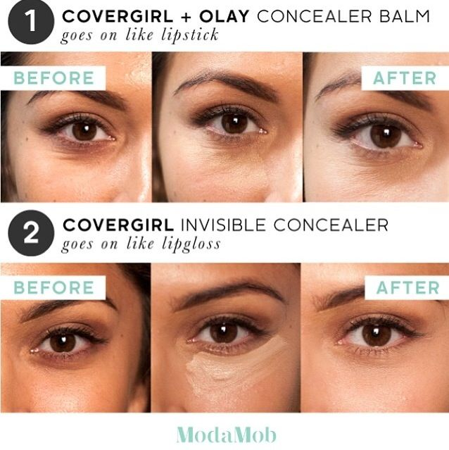On @modamob's Instagram comparison of different concealers! #MustTry