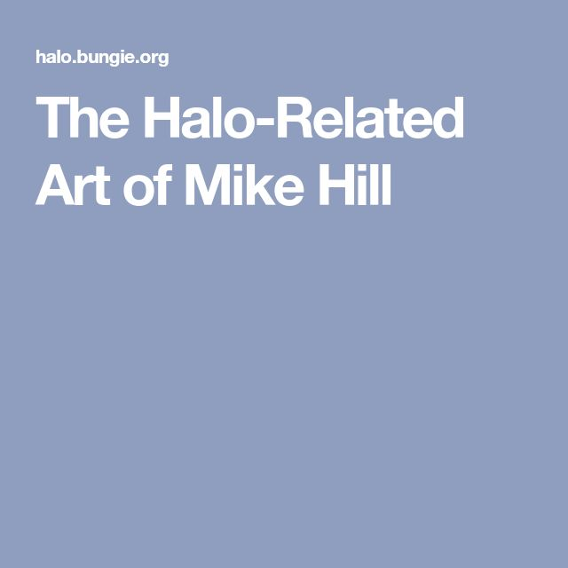 The Halo-Related Art of Mike Hill
