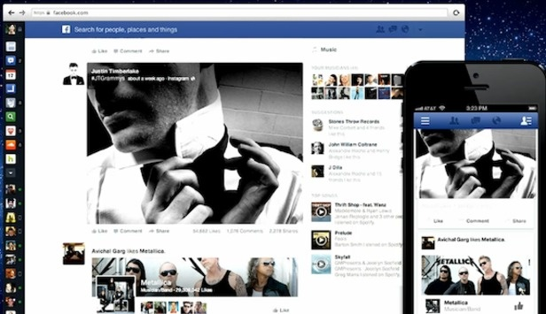 Facebook Adds Separate Feeds For Music, Images And More In News Feed